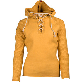 Amundsen Sports W's Boiled Laced Hoodie Yellow Haze